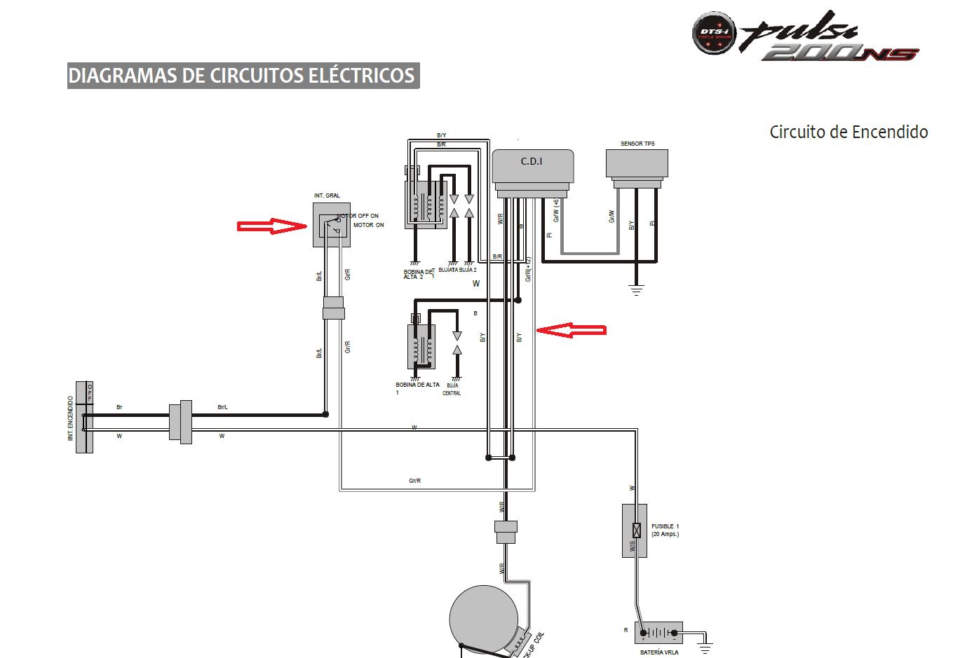 Bajaj Pulsar Diagrama De Cableado Auto Electrical Wiring